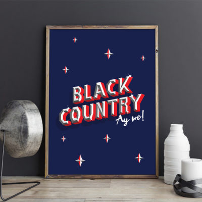 Emily Creates Black Country In Frame